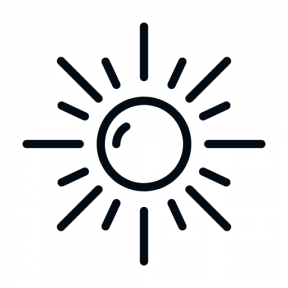 Icon Graphic - #SimpleIcon #IconElement #sunlight #summer #sunny #sunshine #summertime #sunbeam #weather