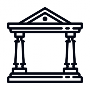 Icon Graphic - #SimpleIcon #IconElement #temple #classical #roman #monuments #monument #ancient #greek