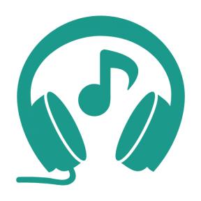 Icon Graphic - #SimpleIcon #IconElement #tool #note #auricular #tools #headphones #musical #headphone