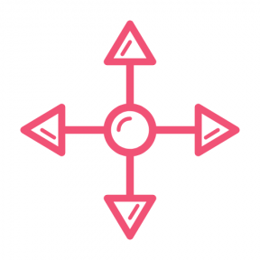 Icon Graphic - #SimpleIcon #IconElement #arrows #arrow #down #up #left #right