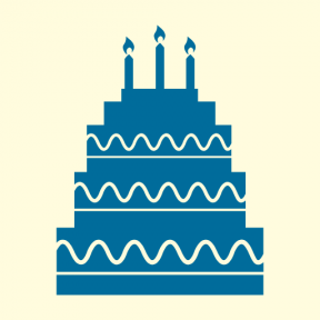 Icon Graphic - #SimpleIcon #IconElement #cakes #bakery #birthday #food #candles #cake