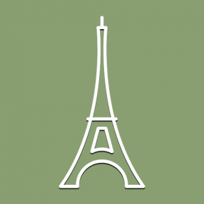 Icon Graphic - #SimpleIcon #IconElement #culture #tourist #monument #paris #france #monuments