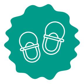 Icon Graphic - #SimpleIcon #IconElement #edges #frames #raggedborders #shoe #rough