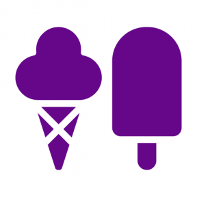 Icon Graphic - #SimpleIcon #IconElement #park #sweet #creams #couple #cold #desserts #food #snacks #ice