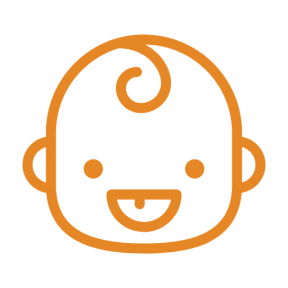 Icon Graphic - #SimpleIcon #IconElement #people #childhood #kid #child #expression #happiness #face