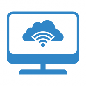 Icon Graphic - #SimpleIcon #IconElement #signal #computer #monitor #cloud #desktop #storage #interface #screen