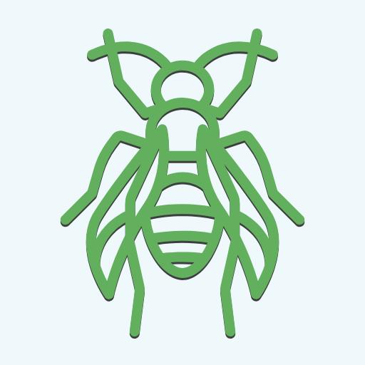 Green,                Invertebrate,                Font,                Organism,                Membrane,                Winged,                Insect,                Line,                Pollinator,                Symbol,                Clip,                Art,                Animal,                 Free Image
