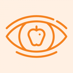Icon Graphic - #SimpleIcon #IconElement #apple #observation #vision #education #optical #eye