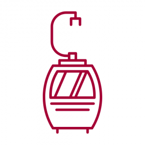 Icon Graphic - #SimpleIcon #IconElement #cable #trip #hanging #elevator #vacation #transport