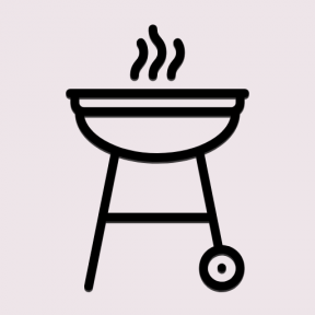 Icon Graphic - #SimpleIcon #IconElement #cooking #grill #tool #cook