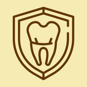 Icon Graphic - #SimpleIcon #IconElement #dentist #tooth #dental #hygienic #shield