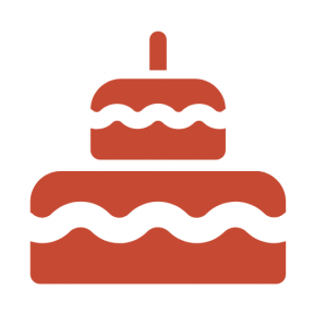 Icon Graphic - #SimpleIcon #IconElement #desserts #food #cake #dessert #sweets #birthday #sweet #bakery