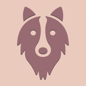 Icon Graphic - #SimpleIcon #IconElement #head #long #dog #hair #face #animals #pet