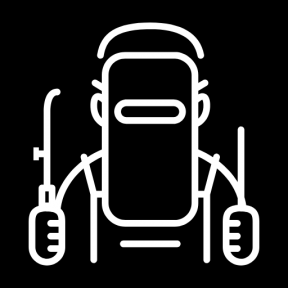 Icon Graphic - #SimpleIcon #IconElement #industrial #garage #repair #worker #factory #industry #people