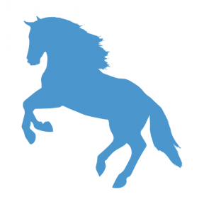 Icon Graphic - #SimpleIcon #IconElement #jumping #horse #side #silhouette #animals #view #jump