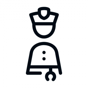 Icon Graphic - #SimpleIcon #IconElement #people #order #policeman #policemen #protection #law