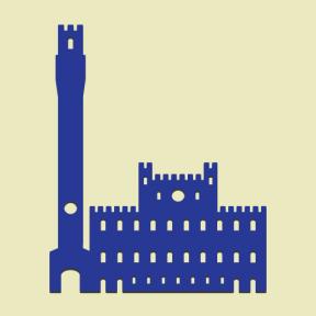 Icon Graphic - #SimpleIcon #IconElement #Plaza #monuments #Siena #Tuscany #italy #square