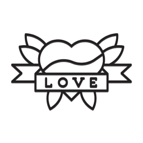 Icon Graphic - #SimpleIcon #IconElement #school #old #loving #vintage #shapes #tattoo