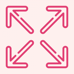 Icon Graphic - #SimpleIcon #IconElement #screen #arrows #directional #multimedia #option #arrow #full