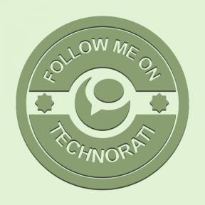 Icon Graphic - #SimpleIcon #IconElement #social #badge #me #retro #badges #website #technorati #circular #follow