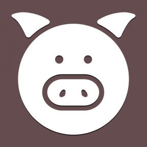 Icon Graphic - #SimpleIcon #IconElement #swine #mammal #head #face #pork #animals #farm