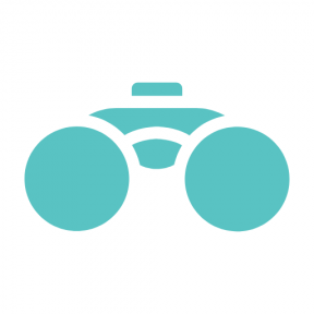 Icon Graphic - #SimpleIcon #IconElement #view #binoculars #networking #find #search