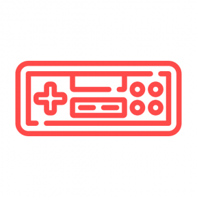 Icon Graphic - #SimpleIcon #IconElement #vintage #console #technology #gamer #controller #game #gaming