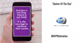 MVP Quotes of the day
