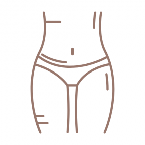 Icon Graphic - #SimpleIcon #IconElement #anatomy #fitness #health #female #abdominal