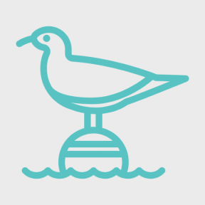 Icon Graphic - #SimpleIcon #IconElement #animal #bird #animals #buoy #sea