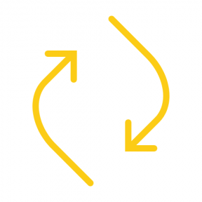 Icon Graphic - #SimpleIcon #IconElement #arrow #arrows #rotating #curved #rotate #reload