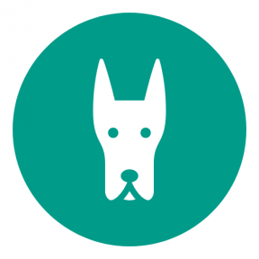 Icon Graphic - #SimpleIcon #IconElement #Doberman #view #shapes #face #music #circular