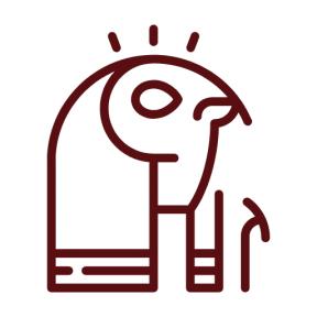 Icon Graphic - #SimpleIcon #IconElement #egypt #egyptian #shapes #mythology #religion #god