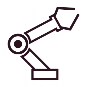 Icon Graphic - #SimpleIcon #IconElement #factory #robot #Tools #and #industry #utensils