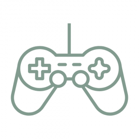 Icon Graphic - #SimpleIcon #IconElement #game #gamepad #joystick #technology #controller #console #gaming