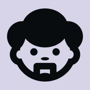 Icon Graphic - #SimpleIcon #IconElement #goatee #people #man #face
