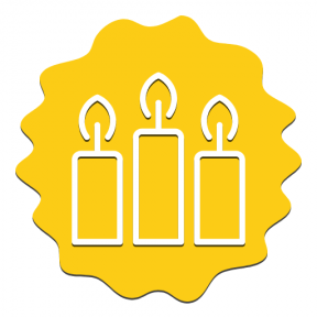 Icon Graphic - #SimpleIcon #IconElement #grungy #decorative #religion #wavy #border #scalloped #raggedborders