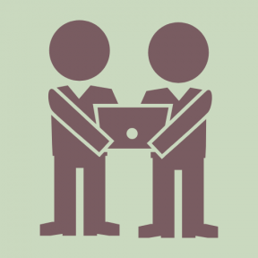 Icon Graphic - #SimpleIcon #IconElement #holding #men #males #students #man