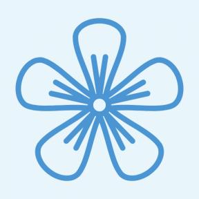 Icon Graphic - #SimpleIcon #IconElement #hypericum #botanical #nature #petals #blossom #flower