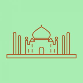 Icon Graphic - #SimpleIcon #IconElement #india #monuments #agra #taj #mahal