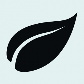 Icon Graphic - #SimpleIcon #IconElement #leaf #nature #shape #leaves #essentials #plant #shapes #black #natural