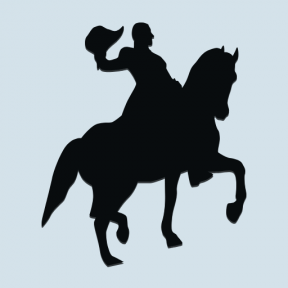 Icon Graphic - #SimpleIcon #IconElement #luxembourg #equestrian #monuments #horseman #statue #horse #bronze