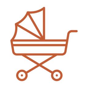 Icon Graphic - #SimpleIcon #IconElement #motherhood #childhood #transport