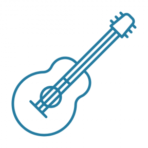 Icon Graphic - #SimpleIcon #IconElement #music #spanish #acoustic #guitar #instrument #string