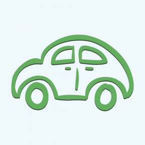 Icon Graphic - #SimpleIcon #IconElement #outline #outlined #vehicle #transport #view #side