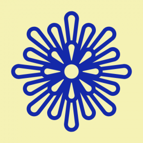 Icon Graphic - #SimpleIcon #IconElement #petals #blossom #aster #botanical #nature #flower