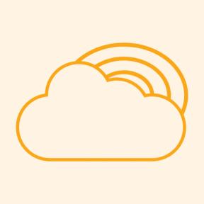 Icon Graphic - #SimpleIcon #IconElement #rainy #sky #autumn #nature #clouds