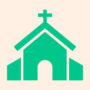 Icon Graphic - #SimpleIcon #IconElement #religion #christianity #buildings #christian #catholic #religious #building