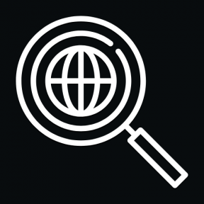 Icon Graphic - #SimpleIcon #IconElement #search #worldwide #global #and #magnifying #Tools #glass #engine #loupe