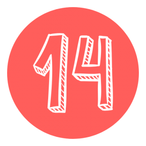 Icon Graphic - #SimpleIcon #IconElement #shapes #add #february #button #calendar #numbers #14